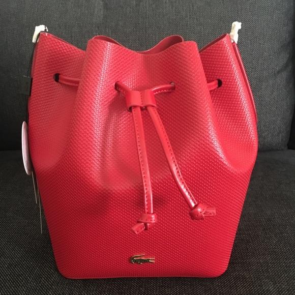 3150dd54c39 Lacoste Bags   Chantaco Bucket Bag   Poshmark